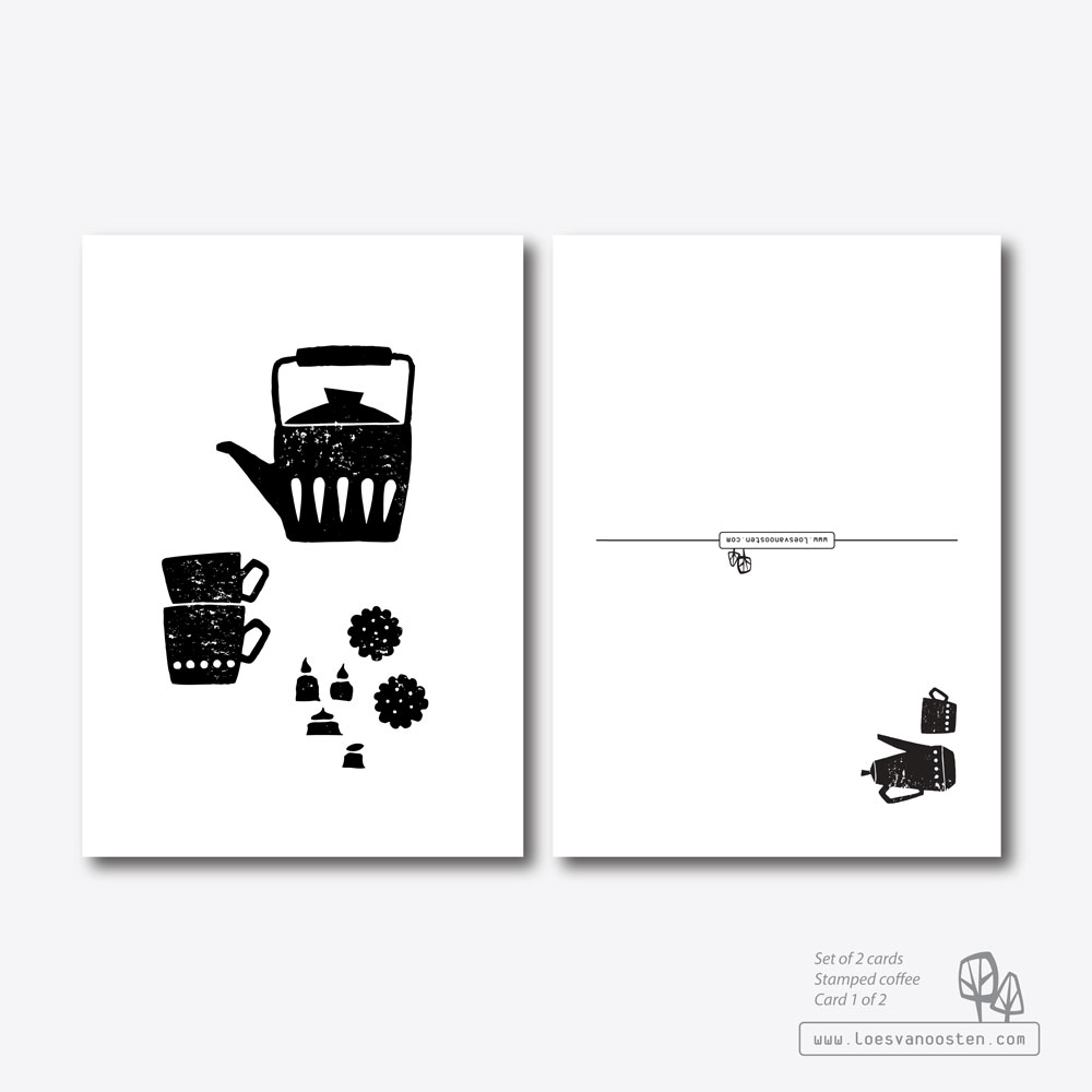 Stamped coffee card 1